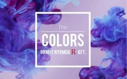 színek a nyomdaiparban